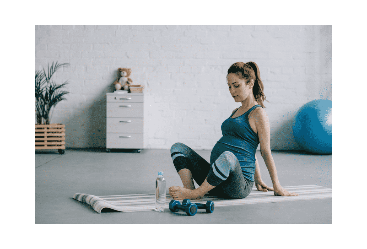 gravidanza palestra attività fisica maternità