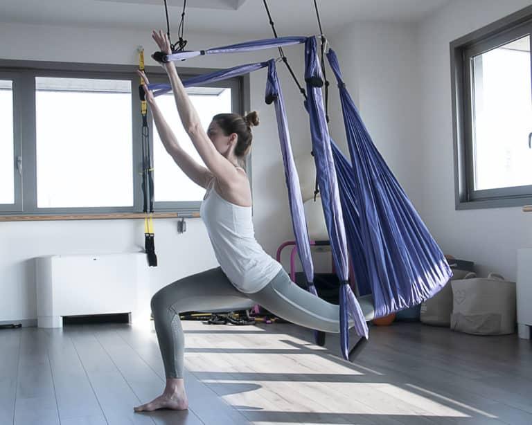 esercizio di Body Flying®presso lo Studio Hara di Reggio Emilia